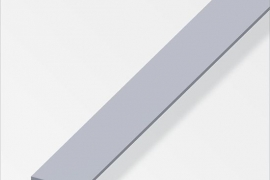 Latt 25x2mm alumiinium naturaalne 1m