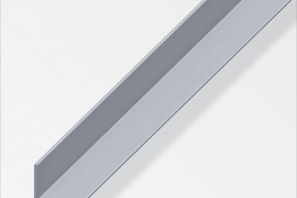 Nurk 25x25x1mm alumiinium naturaalne 1m