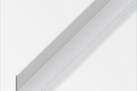 Nurk 20x20x1,5mm anodeeritud alumiinium hõbe 1m
