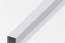 Toru kant 10x10x1mm anodeeritud alumiinium hõbe 1m