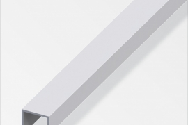 Profiil pidemega 20x22x15mm anodeeritud alumiinium hõbe 1m