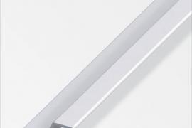 Profiil pidemega 40x13x18mm anodeeritud alumiinium hõbe 1m