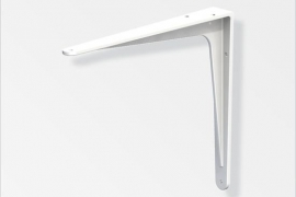 Kandur 125x150mm pulbervärvitud alumiinium valge
