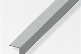 Nurk 15x15x1mm anodeeritud aluminium teras 1m