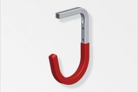 Garaazinagi 110x165x90mm alumiinium naturaalne punane
