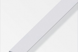 Latt 15x2mm anodeeritud alumiinium hõbe 2m