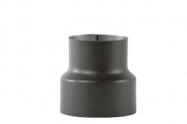 Suitsutoru üleminek Ø150-120mm must