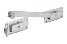 Väravahaak 340x180x70x30mm tsingitud