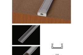 Alumiinium profiil LED valgusribale 16x6mmx2m xxx