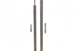 Trepikäsipuu post 44,5x1,2x1093mm, rv teras, külje kinnitus