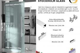 Siinikomplekt STOCKHOLM klaasile