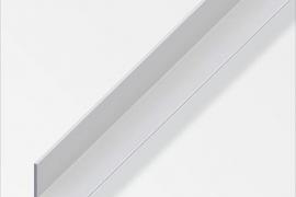 Nurk 10x10x1mm anodeeritud alumiinium hõbe 1m