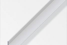 Nurk 20x10x1,5mm anodeeritud alumiinium hõbe 1m