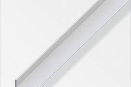 Nurk 25x20x1,5mm anodeeritud alumiinium hõbe 1m