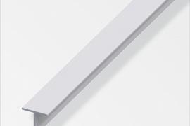 Profiil T 15x15x1,5mm anodeeritud alumiinium hõbe 1m