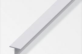 Profiil T 20x20x1,5mm anodeeritud alumiinium hõbe 1m