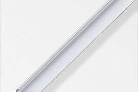 Ääre liist 18x5,8x1mm anodeeritud alumiinium hõbe 1m