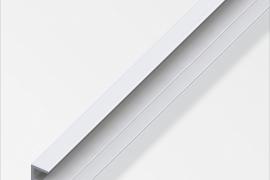 Profiil serv 5,1x25x1,3mm anodeeritud alumiinium hõbe 1m