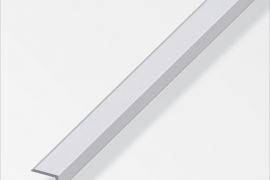 Serva kaitse 19,6x8,6x1,6mm anodeeritud alumiinium hõbe 1m