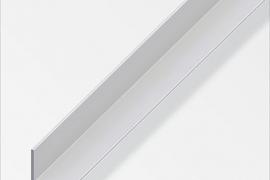 Nurk 30x30x1mm anodeeritud alumiinium hõbe 1m