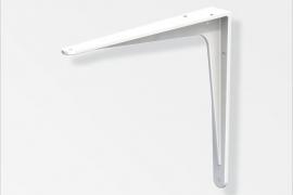 Kandur 150x173mm pulbervärvitud alumiinium valge