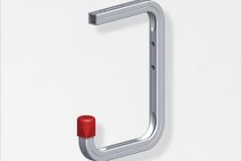 Garaazinagi 115x160x100mm alumiinum naturaalne