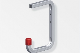 Garaazinagi sein/lagi 150x255x155mm alumiinium naturaalne