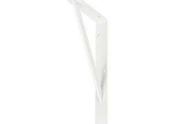 Riiulikandur 300x200mm tugevdatud valge