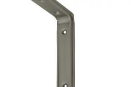 Riiulikandur 115x80mm mattmetall
