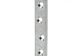Naelutusplaat 80x15mm tsingitud