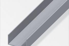 Profiil U 11,5x19,5x1,5mm alumiinium naturaalne 1m