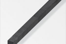 Nelikant profiil 10x10mm kuumrullitud teras 1m