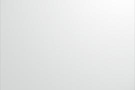 Plaat 250x500x0,8mm alumiinium, pulbervärvitud valge