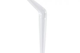 Riiulikandur 100x125mm valge